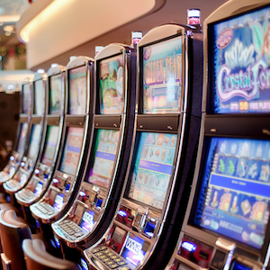 Casino's Land Based Slots Now Played Online