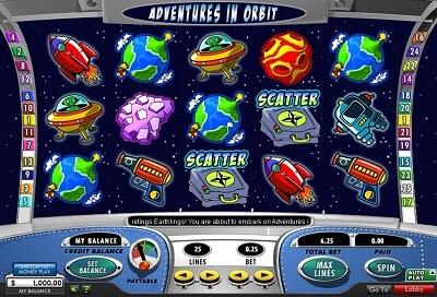 Adventures in Orbit Slots