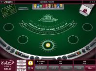 Online Blackjack at Ruby Fortune