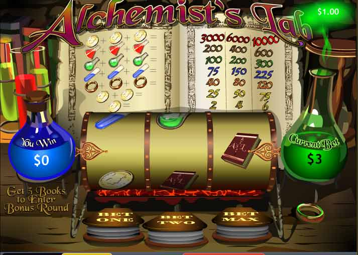 Alchemists Lab at Casino Las Vegas