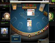 Find a blackjack table at Rich Casino