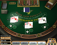 Blackjack Table at Cashpot