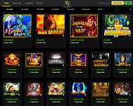 Great variety of Games at Rich Casino