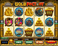 Gold Factory Online Slots at JackpotCity