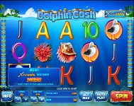 Play Dolphin Cash at Slots Heaven Casino