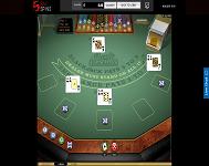Blackjack at Sin Spins