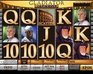 Gladiator - a popular Playtech slots game