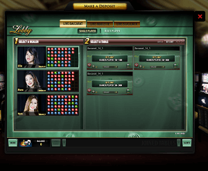 Live Dealer Lobby at Hippodrome
